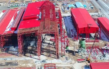 پیشرفت74 درصدی فولادسازی سفیددشت